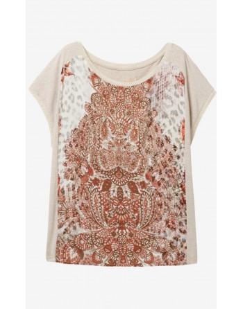 T-shirt DESIGUAL arapajoes...