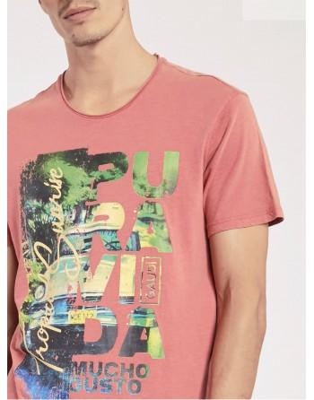 T-shirt GAUDI in cotone...