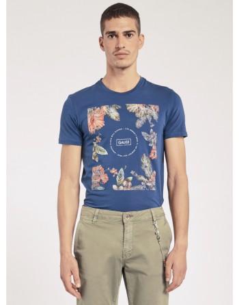 T-shirt a fiori GAUDI'uomo...
