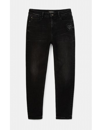 Jeans skinny lunghi fino...