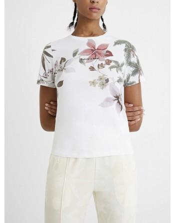 Maglietta slim cotone...