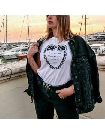 T-Shirt Donna Silver...