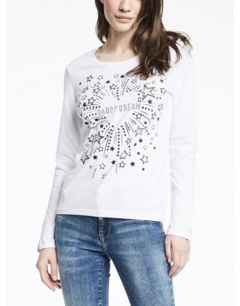 T shirt con stelle Gaudì...
